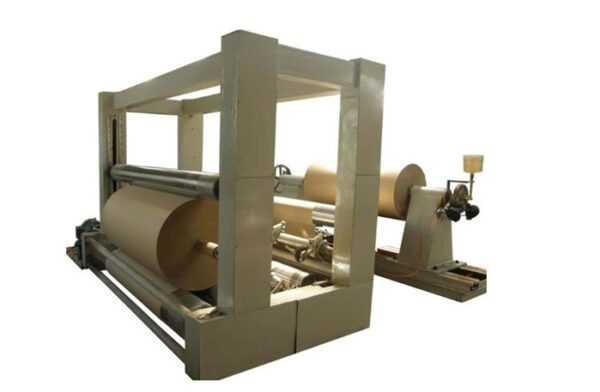 бобинорезательная машина для крафт бумаги