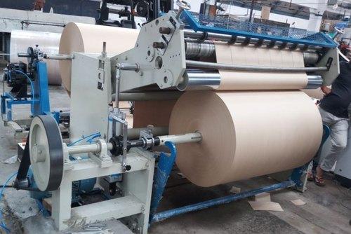 бобинорезательная машина для резки крафт-бумаги