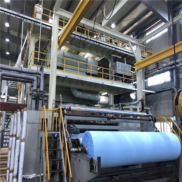 Линия производства трехслойного спанбонда